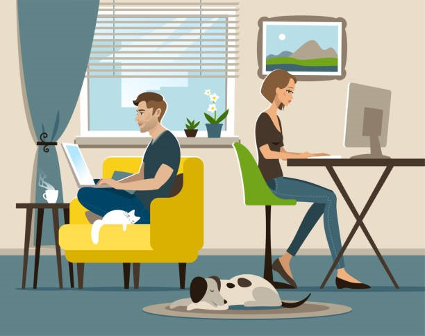Home Office Illustrations, Royalty-Free Vector Graphics & Clip Art ...